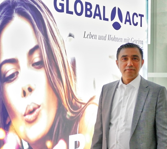 Ghaffar Ghaffari GLOBAL-ACT CEO